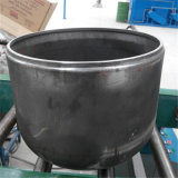 Macchina scuotente lievemente del cilindro del piatto semi automatico dell'estremità