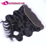 L'onda frontale del corpo del merletto brasiliano dei capelli 13*4 libera la parte