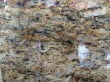 Granito giallo dorato della Cina per le mattonelle, controsoffitti, lastre, selle