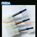 ferramentas de potência revestidas azuis dos cortadores do carboneto HRC60 de 10mm