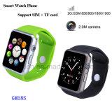 SIMのカードスロット(GM18S)が付いているBluetoothのスマートな腕時計