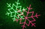 Luz al aire libre de la estrella de la ducha del laser de las luces de la Navidad del laser