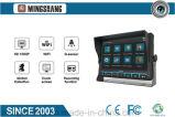 """6 CH 1080P для мобильных ПК регистратор с 9"""" сенсорный монитор Full HD с GPS+3G\4gwifi+G-Sensor+2xsd (256 ГБ)"""