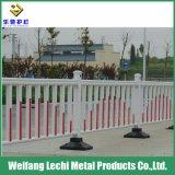 Protection contre la rouille facilement assemblés route clôture en acier