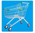 Fabrication de chariots d'achats Métal et Zinc / Galvanisé / Surface chromée 08018