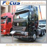 Rotelle 371HP del motore primo 10 della testa del camion del trattore di Sinotruck di vendita di prezzi bassi