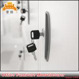 18 de Kast van de Kleding van de Kleedkamer van de Gymnastiek van de Sporten van het Meubilair van het Metaal van deuren