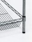 Venta al por mayor DIY alambre de metal de panadería estante de exhibición del estante de fábrica