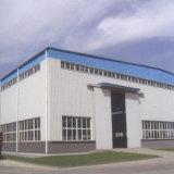 Structure du châssis en acier préfabriqués fabriqués Warehouse