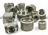 위조된 Steel Screwed 또는 Socket Welded Half Coupling