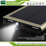 Chargeur de batterie solaire d'échantillons gratuits Power Bank