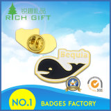 Дешевый значок металла высокого качества печатание логоса