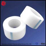 Sport medici 100% dell'imballaggio del cotone semplice di bianco che legano/nastro adesivo atletico