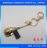 Kundenspezifischer Qualitäts-Metall-USB-Schlüsselketten-Lieferant