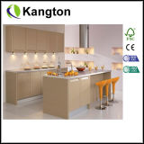 Chapa de madera de roble europeo natural kitchen cabinet