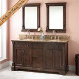 Governo di stanza da bagno di legno solido di vanità della stanza da bagno di alta qualità Fed-6043
