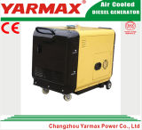 6kVA choisissent le type silencieux refroidi par air générateur de cylindre de diesel