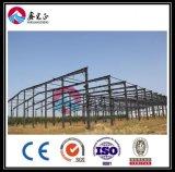 Magazzino costruito della struttura d'acciaio (BY052003)