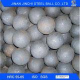Esfera de moedura de aço forjada para minar pelo fabricante chinês