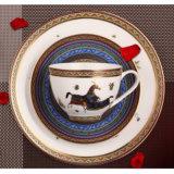 Articoli per la tavola di ceramica della famiglia stabilita del disco della Cina 2 Hourse