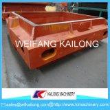 Ligne de moulage de bâti de qualité moule utilisé pour le matériel de fonderie