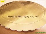 الصين بالجملة ذهبيّة لون قالب ألواح لأنّ مخبز متجر مع [سغس] ([ب&ك-ك073])