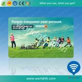 Offset tarjeta RFID frecuencia de impresión dual plástico