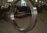 Anel de aço forjado laminado a alta temperatura sem emenda