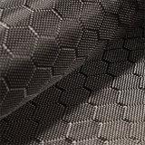 tessuto della fibra del carbonio del jacquard di 3K 240g con il reticolo del tessuto di esagono