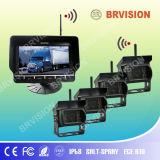 Sistema sem fio com o transmissor de 4 câmeras