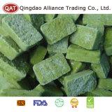 Tablette verte gelée de purée de /poivron