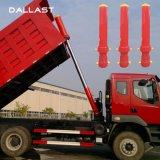 Vérin hydraulique pour Fe de camions à benne à plusieurs étapes Étape 4 chromé télescopique