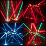 diodo emissor de luz Moving Head Spider Light de 9PCS 12W 4in1 Infinite Rotating