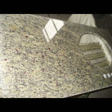 Countertop гранита Giallo Cecilia для ванной комнаты