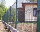 3Dは溶接された金網の塀または金属の塀のパネルを曲げた