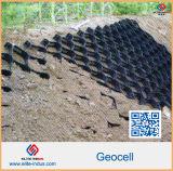 Geocell HDPE de alta resistencia para la fundación de suelo blando estándar ASTM D