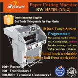 machine de découpage de papier automatique programmée 670mm hydraulique du massicot A3 A4 de 520mm 560mm