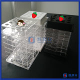 アクリルの口紅の立場を回す中国の卸し売り新しいデザイン