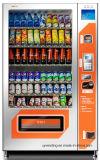 Máquina de Vending combinado larga de 10 seleções com unidade refrigerando de R134A