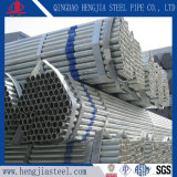BS1387 ASTM A53 GR. Tubo de acero galvanizado de la INMERSIÓN caliente de B