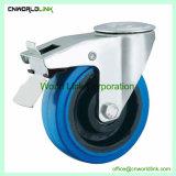 De borracha azul de forma diferente articulação elástica Castor com cargas diferentes
