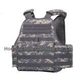 Het militaire Acu Digitale Vest van de Carrier van de Plaat van Molle van de Stof van de Camouflage (hy-BA024)