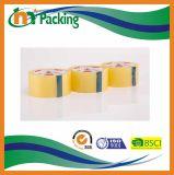 透過試供品BOPPおよびブラウンの付着力のパッキングテープ