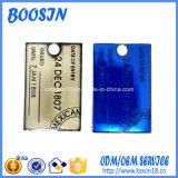 Fascino poco costoso su ordinazione Keychain della modifica di marchio del metallo