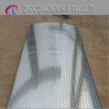 Feuille Checkered galvanisée par configuration de larme