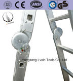 4*3 Ladder van het Aluminium van de Ladder van het Doel van Workplatform de Multi