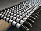 Transportador de rolos de Retorno do transportador do triturador de disco de borracha para limpeza do rolete