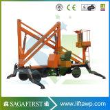 13,8 m a diesel e a máquina da colheitadeira de cereja articulado da Bateria