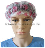 PVC Einzelnes-Layer Shower Cap mit Printing
