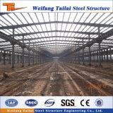 Estrutura de aço prefabricadas galvanizados a quente armazém com moldura de luz